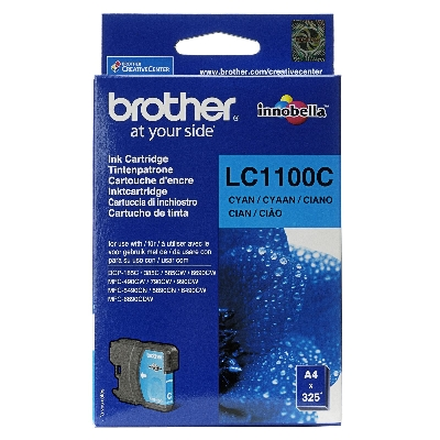 Cartouche Impression BROTHER LC1100C Cyan 500059