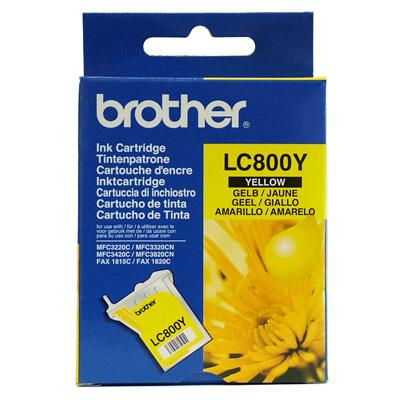 Cartouche Impression BROTHER LC800Y Jaune 500004