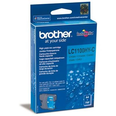 Cartouche Impression BROTHER LC1100HYC Cyan 500063