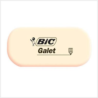 Gomme blanche galet BIC Galet