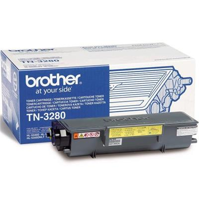 Cartouche Impression BROTHER TN3280 Noir 500071