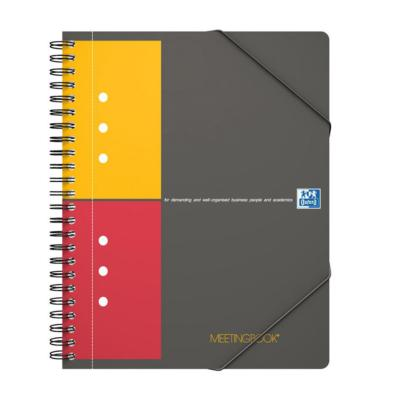Cahier Meetingbook OXFORD A5+ perforé & quadrillé 5x5 - 160 pages - Le lot de 2