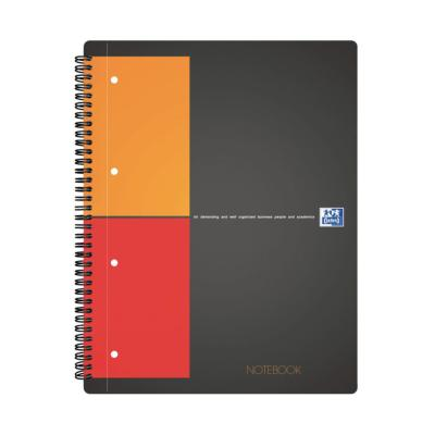 Notebook A4+ OXFORD perforé - Quadrillé 5x5 - Le lot de 2 blocs