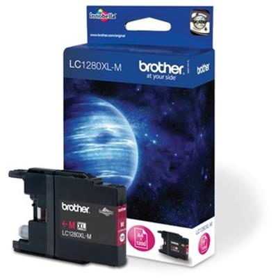 Cartouche Impression BROTHER LC1280XLM Magenta 500086