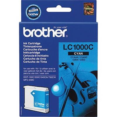 Cartouche Impression BROTHER LC1000C Cyan 500026