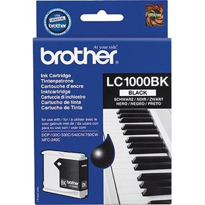 Cartouche Impression BROTHER LC1000BK Noir 500025
