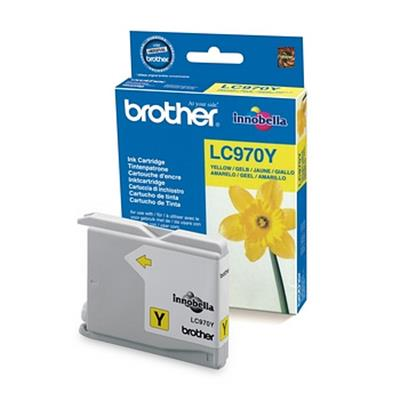 Cartouche Impression BROTHER LC970Y Jaune 500048